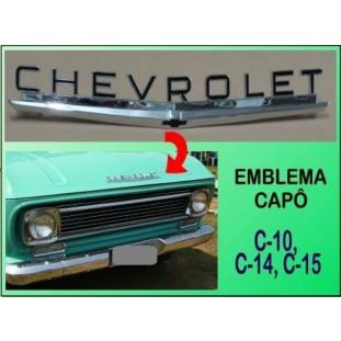 Emblema Chevrolet Capô C-10, C-14, C-15