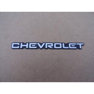 Emblema Chevrolet Tampa Traseira Opala Comodoro 1991 a 1992 Novo Original