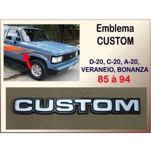 Emblema Custom 85 à 94