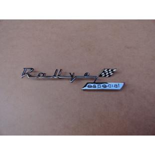 Emblema Lateral Traseira Simca Rallye Original Com Detalhe