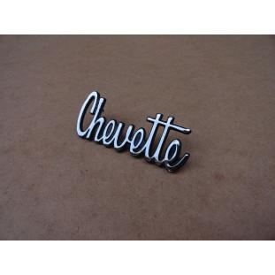 Emblema Chevette 1973 A 1979 Cromado Reprodução Nova