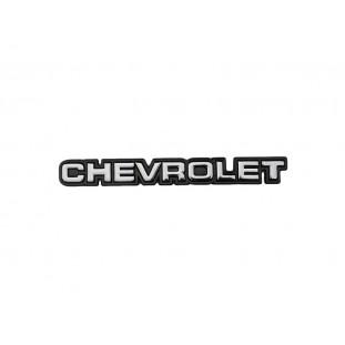 Emblema Chevrolet Grade Dianteira e Tampa Traseira Opala e Caravan 1980 a 1982 - Unitário