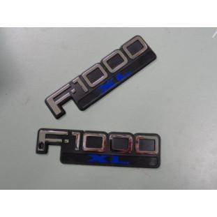 Emblemas F-1000 97 à 98 - Par