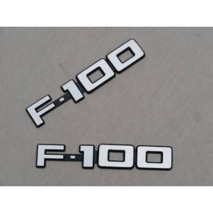 Emblemas F-100 83 à 86 - Par
