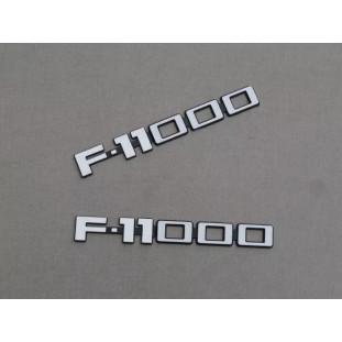 Emblema F-11000 Plástico - Par