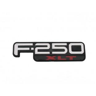 Emblema Lateral F-250 XLT 1999 a 2005 - Unitário