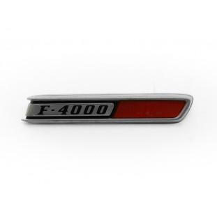 Emblema Lateral Direito Capô Caminhão Ford F-4000 Original Novo