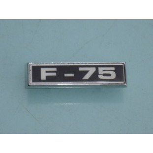 Emblema F-75 Paralama