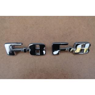 Emblema Caminhão Ford F-8 1948 à 1952 Restaurado Usado - Par