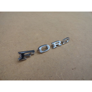 Emblema Ford Corcel Belina Maverick 73 a 77 4 Letras