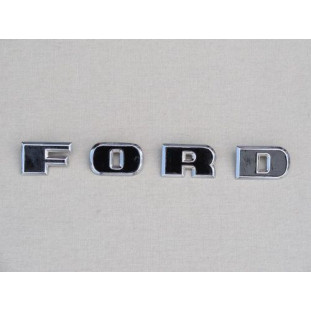 Emblema Ford Capô F-100 68 à 71