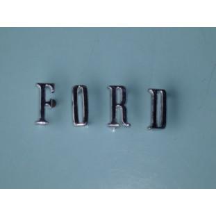 Emblema Ford Maverick e Landau da Traseira Letras Novas