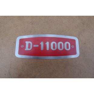 Emblema Frontal D-11000 Caminhão FNM Alfa Romeo Novo