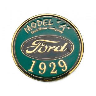 Emblema Frontal Model A 1929 Dourado