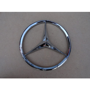 Emblema Frontal Grade Caminhão Mercedes LP 321 1111 1113 Reprodução