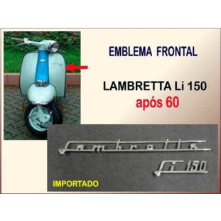 Emblema Frontal Lambretta LI 150 após 60 Importado