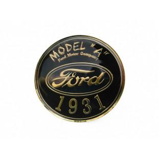 Emblema Frontal Model A 1931