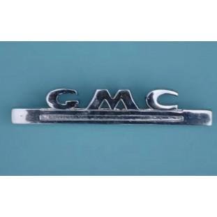 Emblema Lateral GMC Pick Up 1947 a 1953 Cromado Novo
