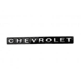 Emblema Chevrolet Grade Dianteira e Tampa Traseira Opala 1969 a 1974 - Unitário