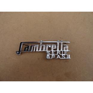 Emblema Lambretta LI Serie Brasil 1960 a 1972