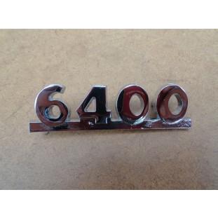 Emblema Lateral Capô 6400 Caminhão Boca de Sapo 47 à 52