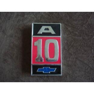 Emblema A-10 Fixação Parafuso