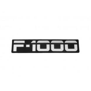 Emblema F-1000 93 à 95