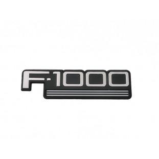 Emblema F-1000 97 à 98