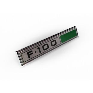 Emblema Lateral da F-100 1980 a 1982 Original