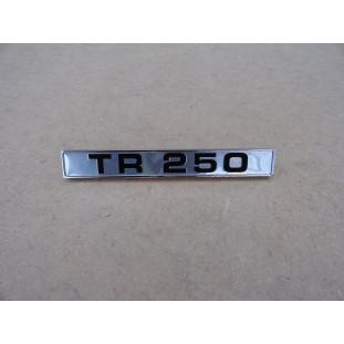 Emblema Lateral Paralama Traseiro Triumph TR250 1968 Importado Novo