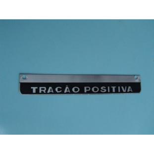 Emblema Tração Positiva C-14
