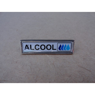 Emblema Álcool Lateral do Paralama