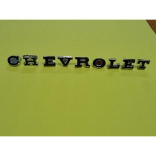 Emblema Letras Chevrolet Opala Caravan 75 à 78