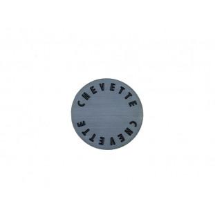 Emblema Logo Chapinha Centro Botão Buzina Volante Chevette Tubarão