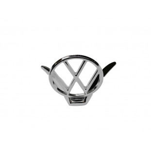 Emblema Mira Volkswagen Capô Fusca Cromado Novo