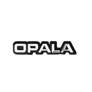 Emblema Traseira ou Paralama Dianteiro Opala 1980 a 1990 Plástico Cromado