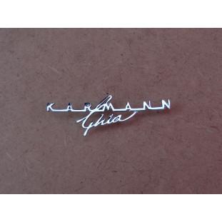 Emblema Painel Porta Luvas Volkswagen Karmann Ghia Novo