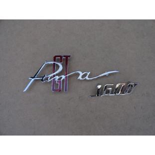 Emblema Puma GT 1600 Cromado Novo Reprodução