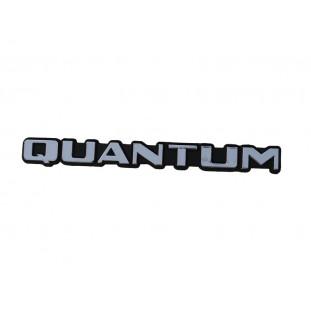 Emblema Quantum da Tampa Traseira Porta Malas Quantum até 1991 Novo Plástico