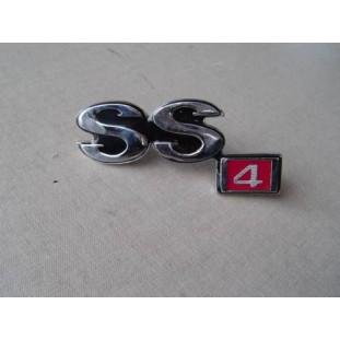 Emblema SS4 Opala SS 4CC 73 à 74