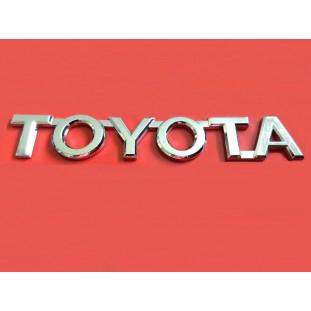 Emblema Toyota Da Tampa Tras. Hilux 2005 A 2016 Cromado