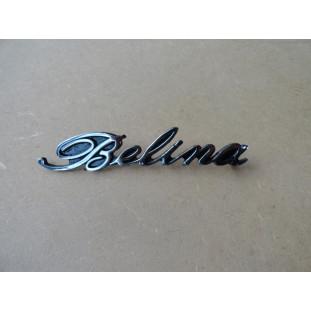 Emblema Traseiro Belina Até 77 Original Restaurado