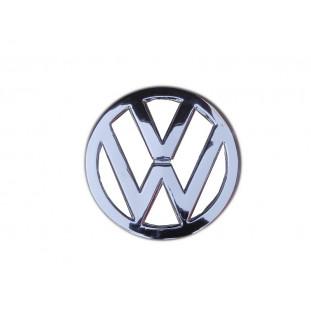 Emblema VW Frontal Frente Kombi Corujinha até 75 Cromado Usado