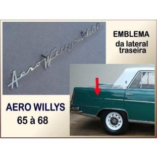 Emblema Aero Willys 2600 - 65 à 68