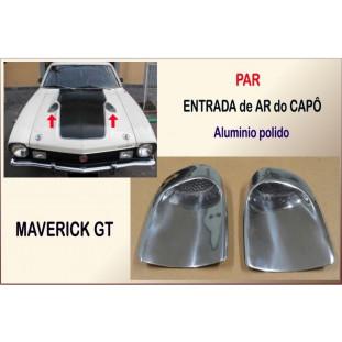 Entrada Ar Maverick GT Alumíno - Par