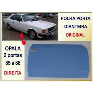 Folha Porta Dianteira Opala 2 Portas 85 à 88 Direito