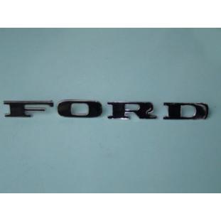 Emblema Ford Tampa Traseira Rural