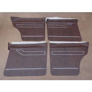Forro de Porta Opala 4 Portas 78 à 79 Luxo Monocromático - Jogo