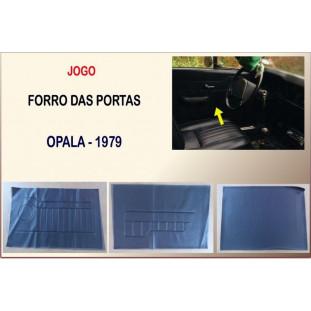 Forro Porta Opala 79 2 Portas Jogo com 6 Peças