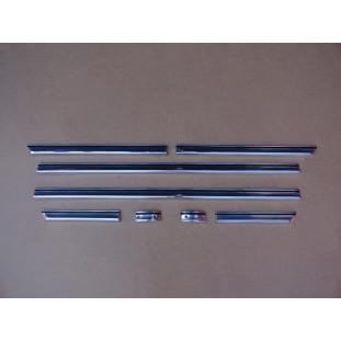 Friso Lateral Inferior F-100 e F-1000 72 a 85 Alumínio - Jogo